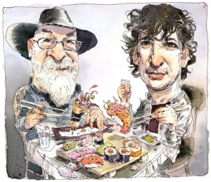 Illustration by John Cuneo from The Guardian.